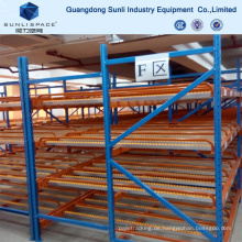 Warehouse Storage Multi Level Regal Schwerkraft Racking