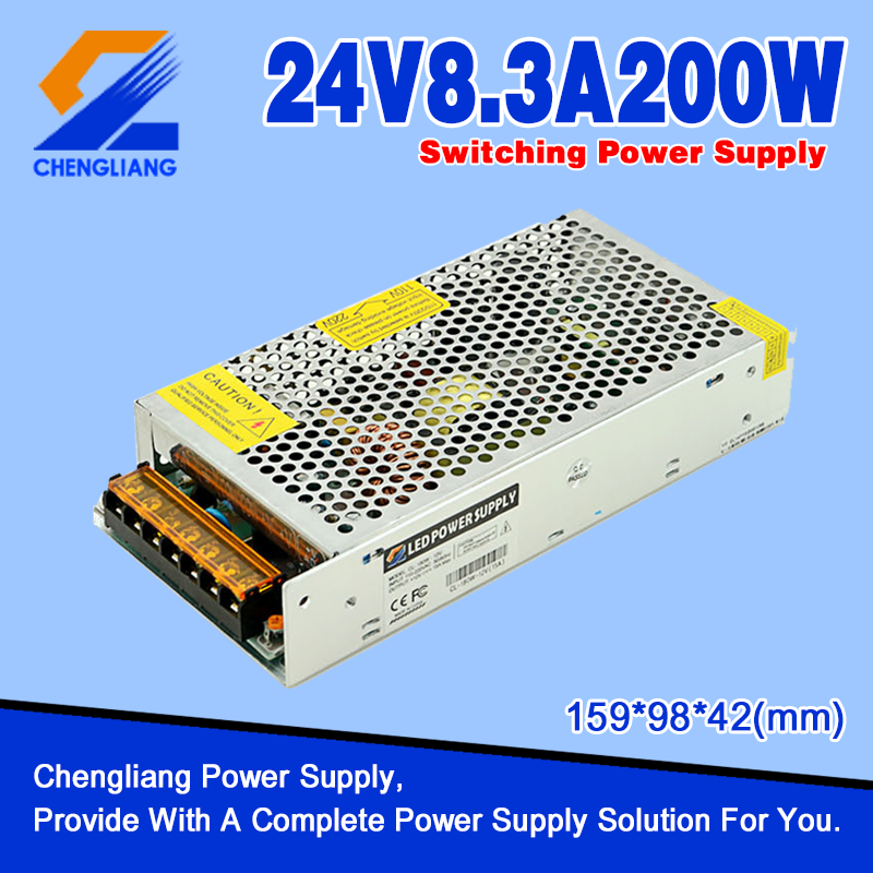 Transformador de LED AC DC 24V 200W