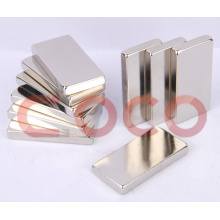 Neodymium Magnet Block Stick Shapes Linear Motor Magnets