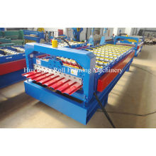 High Speed Automatic Roof Panel Roll Forming Machine With Plc Control