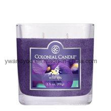 Velas perfumadas do frasco do aroma por atacado, vela high-end do frasco