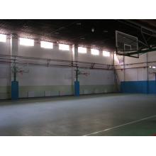 Plancher de basket-ball de sports d'intérieur de PVC / certificat de Fiba de tapis