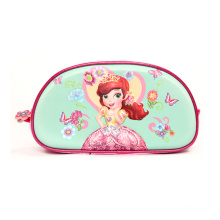 Custom 3D Cartoon Character Stationery Zipper Student Pencil Case For Girl