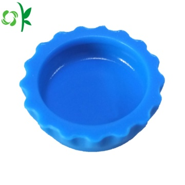 Hot Selling Beer Cap Shape Silicone Bottle Stopper