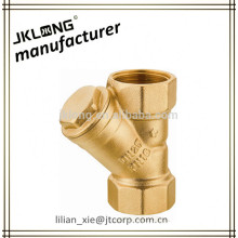 brass strainer brass filter with SS mesh