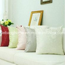 Шелковый атласный диван в европейском стиле / офисная подушка из жаккарда