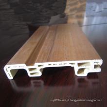 WPC Skirting Flooring Skirting Decoração Skirting Sk-75h14-a