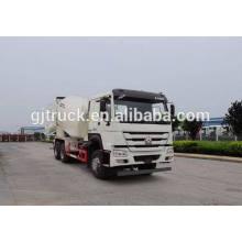 Caminhão do misturador concreto da movimentação de HOWO 6X4 para 6-10 medidores cúbicos