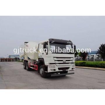 Carro del mezclador concreto de Sinotruk HOWO 6 * 4 drive para 6-10 metros cúbicos