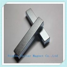 N35 Zinc Plating Neodymium Bar Magnet