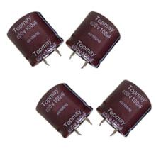 Snap in Aluminum Electrolytic Capacitor 105c Tmce18-7