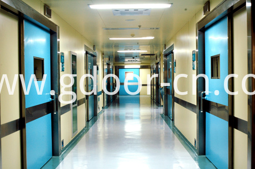 Hospital Hermetic Doors with Fireproof Function