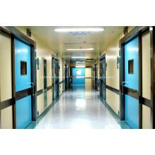 Hôpital des rayons x chambre hermétique porte coulissante automatique