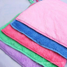 double sides microfiber coral fleece towel export to Vietnam
