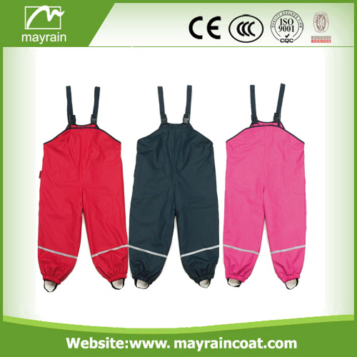 Colorful Polyester Kids Rainsuits