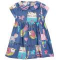 Fashion Lovely Girl Dress in Baby Children Garment