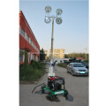 Diesel Generator Portable Flood Telescopic Light Tower