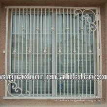 aluminum frame decorative window security bars