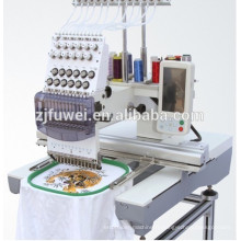 FUWEI single head embroidery machine for sale with Price for 1 head embroidery machine