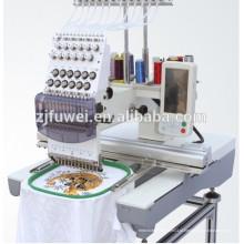 Máquina de bordar de cabeça única FUWEI para venda com Preço para máquina de bordar de 1 cabeça