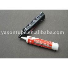 9.4g nozzle plastic tube for cosmetics