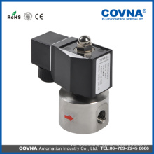 Hot selling DC 12V high pressure solenoid valve for gas