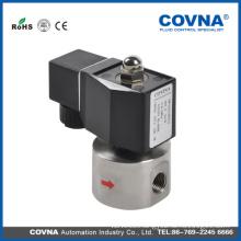 Hot selling DC 12V high pressure solenoid valve for gas