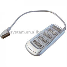 Scart plug to 5 x Scart sockets 0.5m