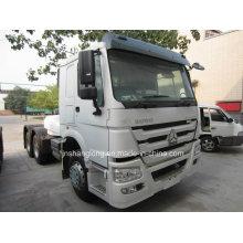 30-50ton Capacity HOWO Brand 336HP 6X6 Tractor Truck
