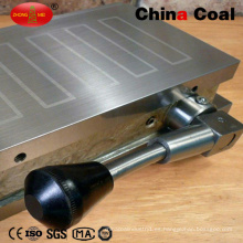 "Máquina trituradora de 4 ""x 7"" con soporte magnético permanente"