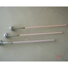Thermocouple corindon platine rhodium pour la réactivité du coke