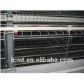 The top 4 layers of the broiler chicken cage shipped to South Africa