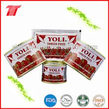 Йоли Бренд 210г органических консервов томатной пасты с низкой ценой