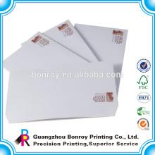Cheap printing custom a5 size envelope