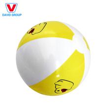Bolas inflables blancas populares modificadas para requisitos particulares y pelota de playa blanca
