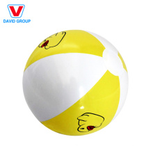 Bolas infláveis brancas populares personalizadas & bola de praia branca