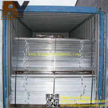 Stucco Metal Lath Mesh Cofres de cofragem de alta costela