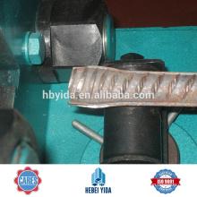 Machine de forge et de filetage de barre d'acier renversée pour la connexion de Rebar