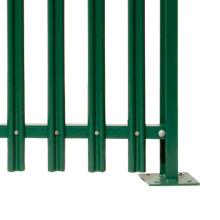 Projeto da grade da cerca da paliçada / elo de corrente (preço de fábrica)
