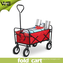 Portable Trolley Wheeled Folding Pull Cart for Shopping