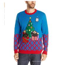 PK1876HX feio camisola de Natal acender com Led
