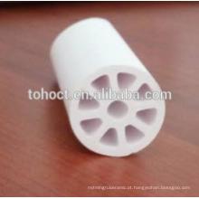 Cação cerâmica porosa industrial por encomenda ou membrana cilíndrica de troca iónica