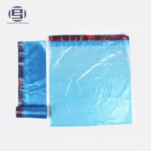 Синий цвет шнурок отходов мешки для мусора 55 галлонов