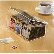Personalizados alta transparente clara tex caixa suporte do saco