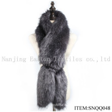 Faux Raccoon and Fox Fur Scarf Snqq048