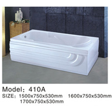 Soporte plástico caliente de la tina de baño del bebé