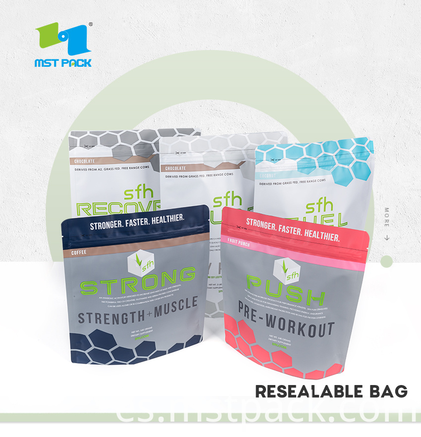 Resealable Stand Up Bags