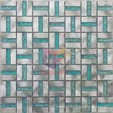 Green Crystal Mosaic Tile/Metal Mosaic (CFA33)