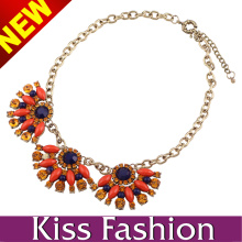 2014 New Arrival Charm Necklace Factory Diretly Wholesale Costume Jewelry (EN0015C)