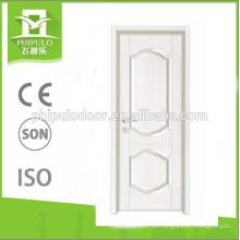 Hochwertige weiße Farboberflächen-Melamin-Tür bei heißem Verkauf